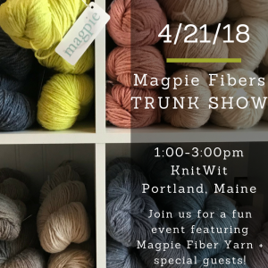 Magpie Fibers trunk show